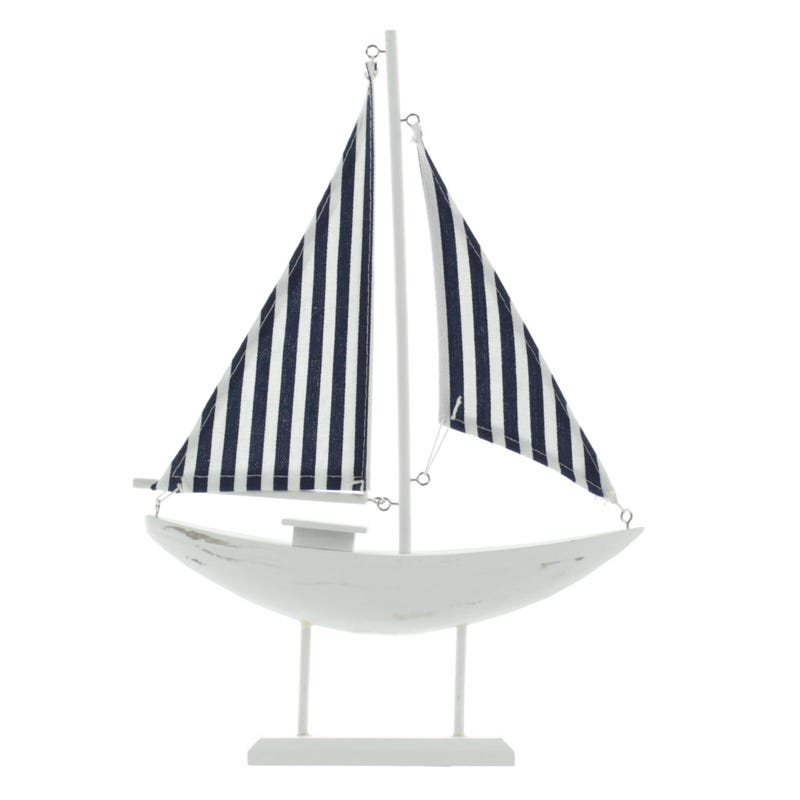 Sailboat -White/Navy