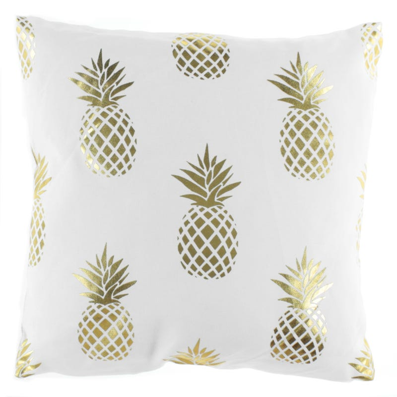 Pineapple Cushion - Gold