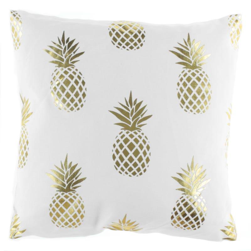 Coussin Ananas Doré