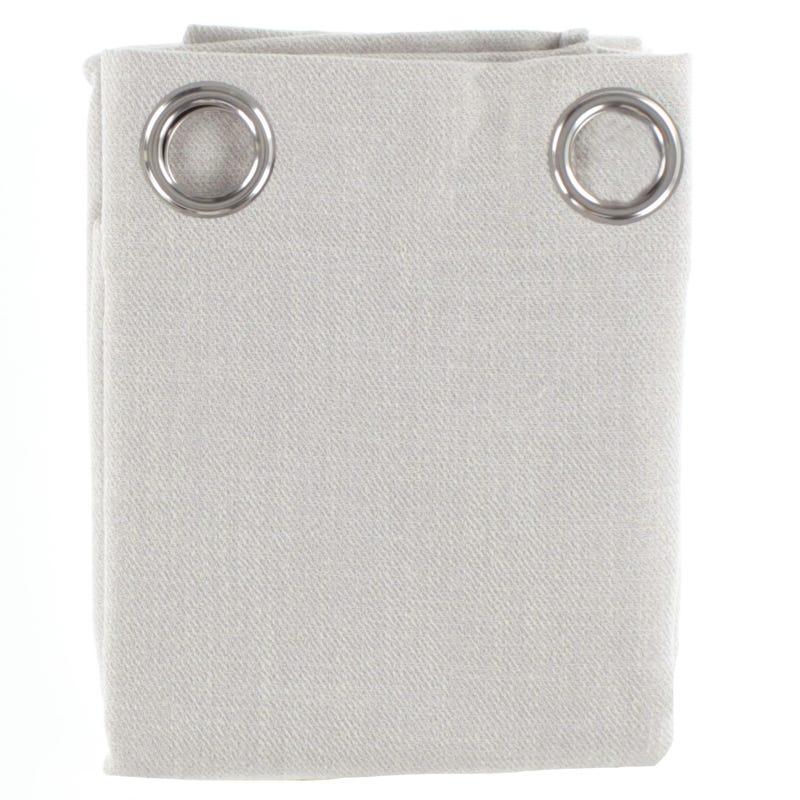 Semi-Opaque Curtain - Pale Gray