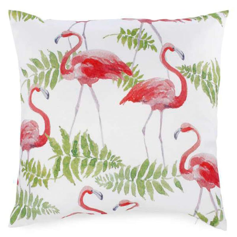 Coussin Flamant Rose 17 X 17