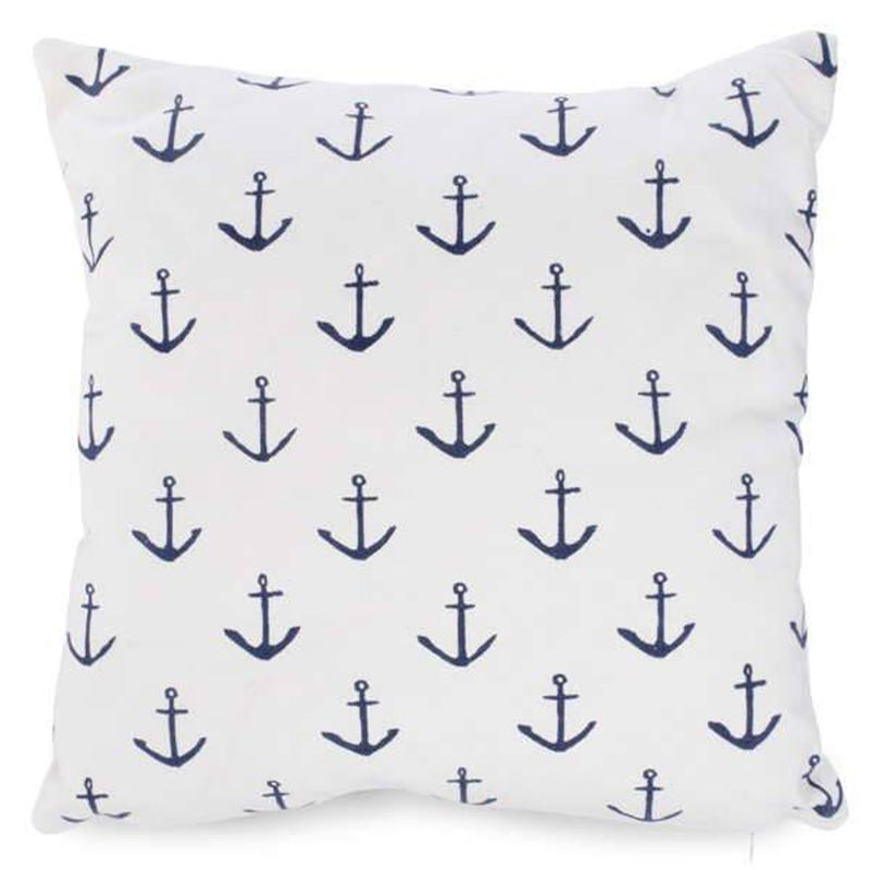 Anchors Cushion - White