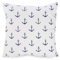 Anchors Cushion - White