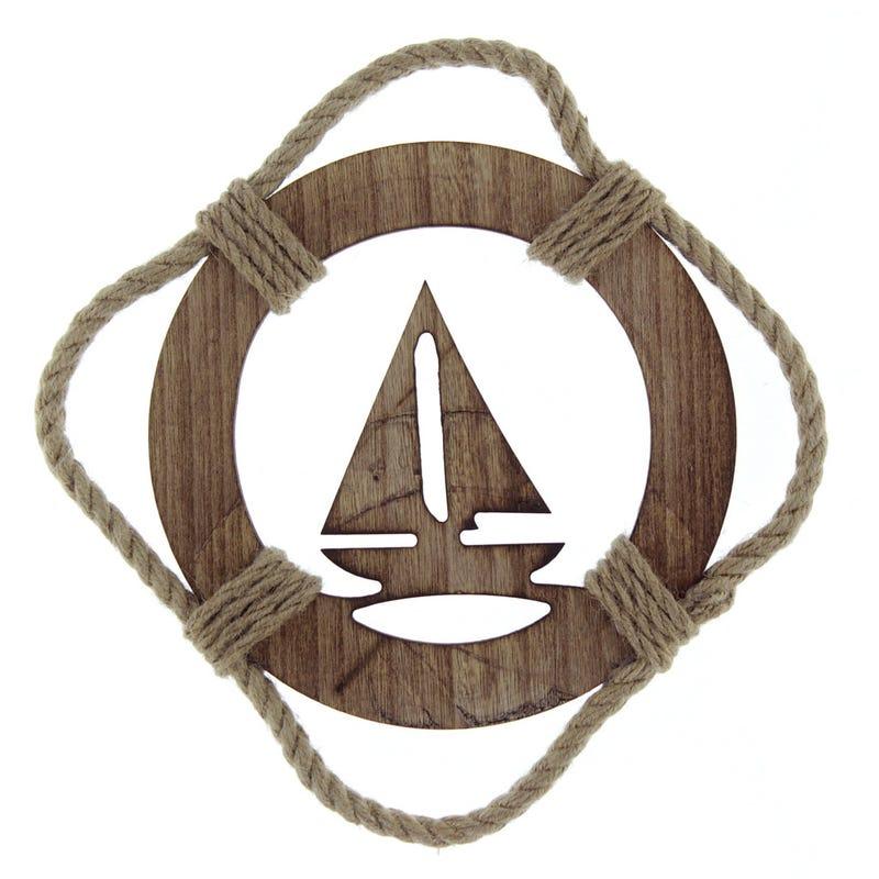 Decorative Buoy Sailing Boat
