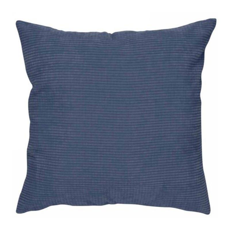 Coussin Velours - Bleu
