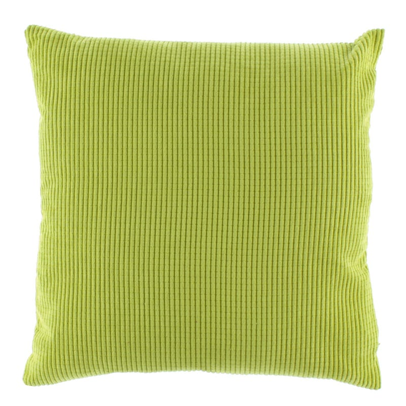 Velvet Cushion - Lime
