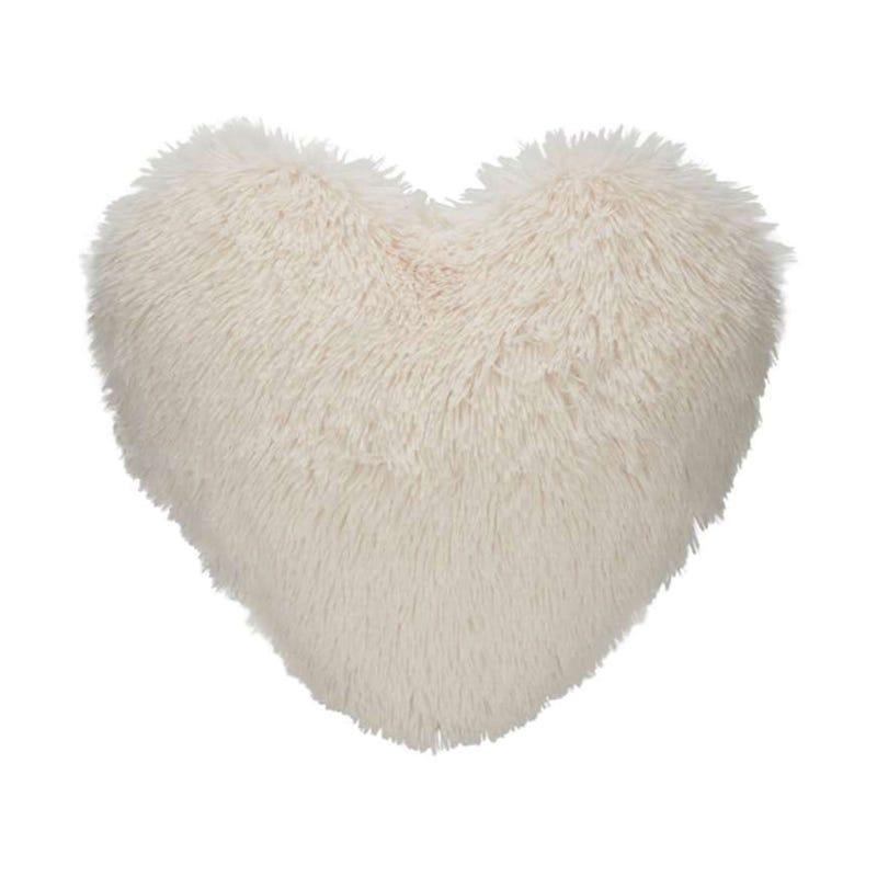 Fur Cushion - Ivory