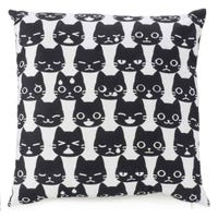Coussin Chats Noirs