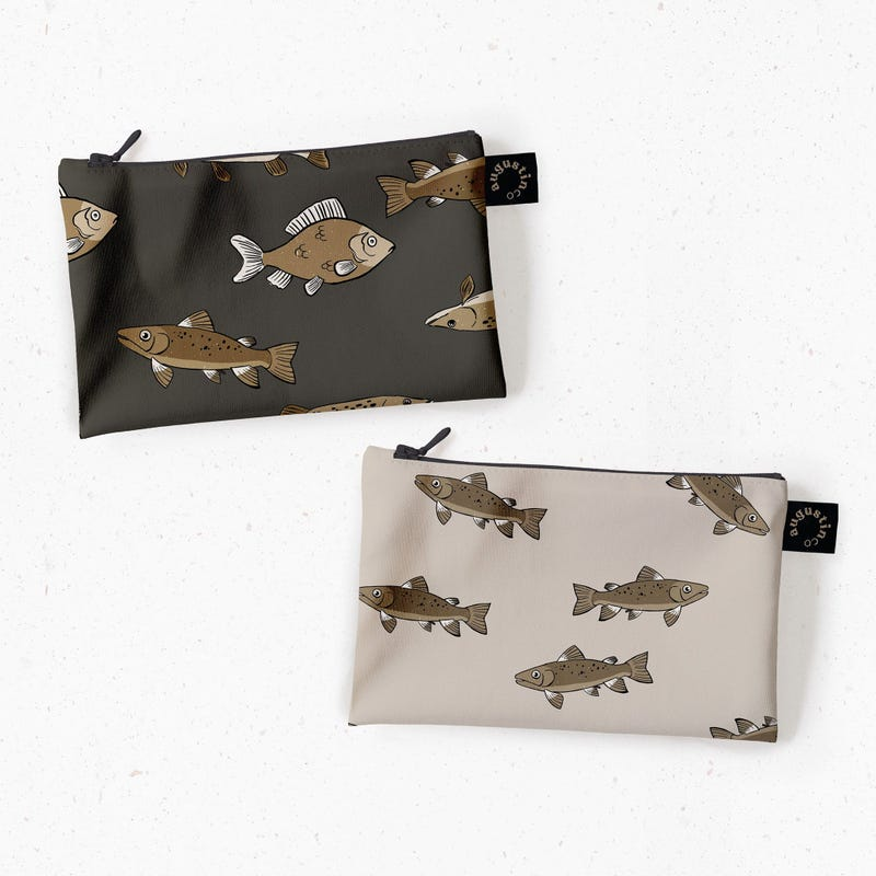Snack Bags 2-Pack - Fish