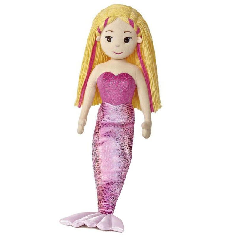 Marinna Mermaid Plush - Pink