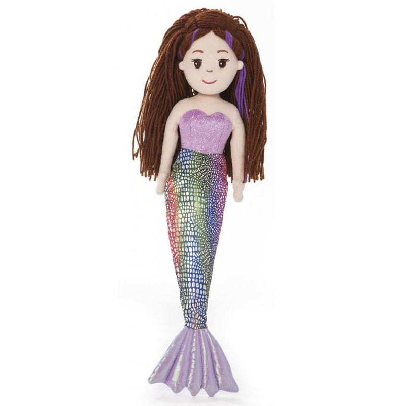 Merissa Mermaid Plush - Purple