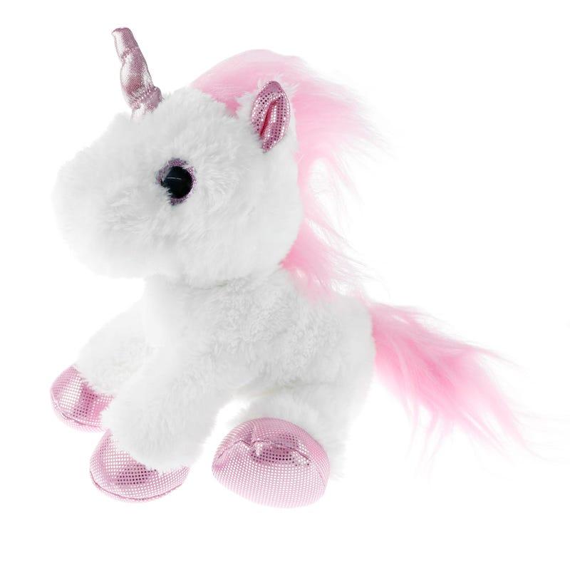 Unicorn Plush- White/Pink
