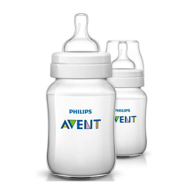 Baby Bottle 9oz(2)Anti-Colic