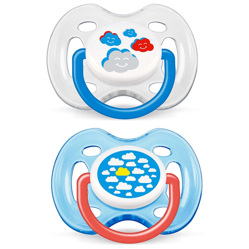 Pacifiers 0-6months Set of 2