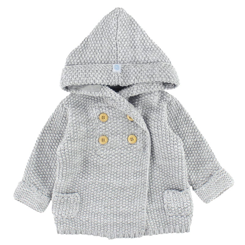 Veste Tricot Crochet 6-18mois