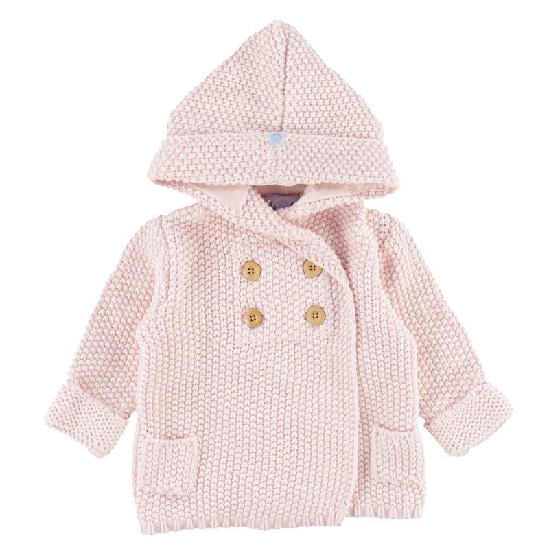 Crochet Knit Hoodie 6-18m
