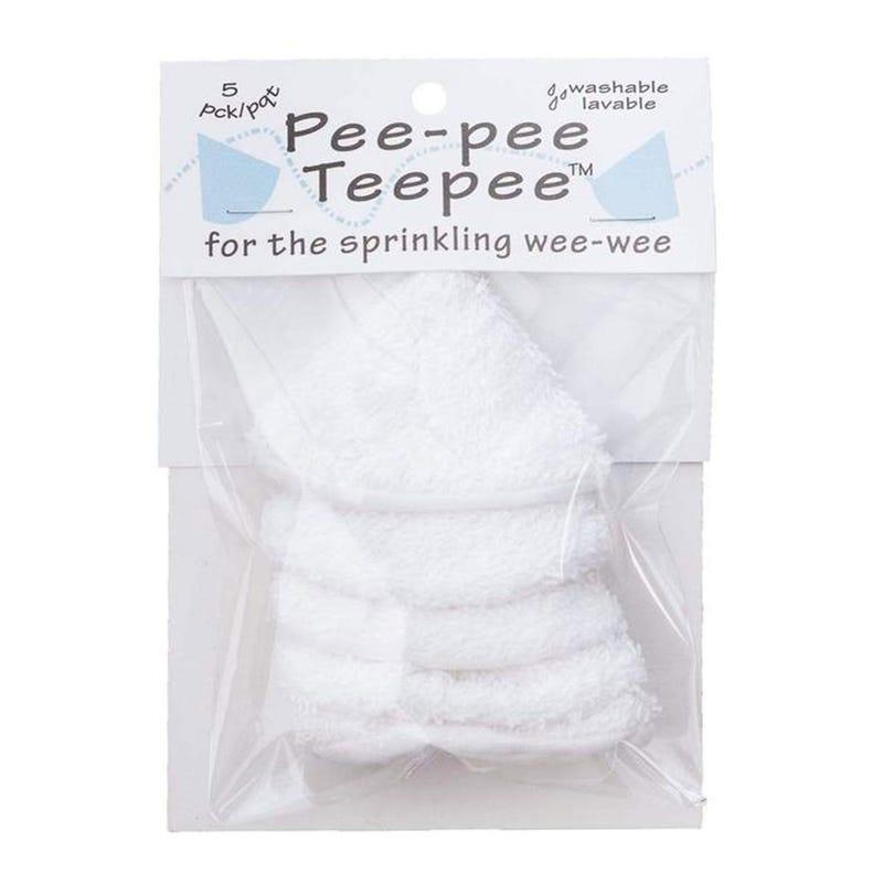 Pee-Pee Teepee Anti-Dégât - Blanc