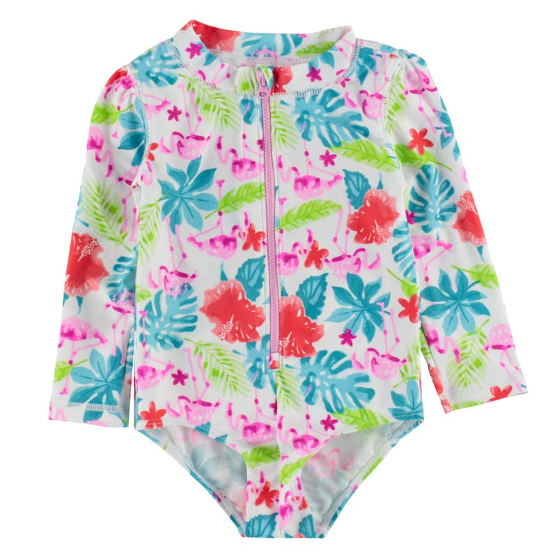 Flamingo UV Rashguard Swimsuit