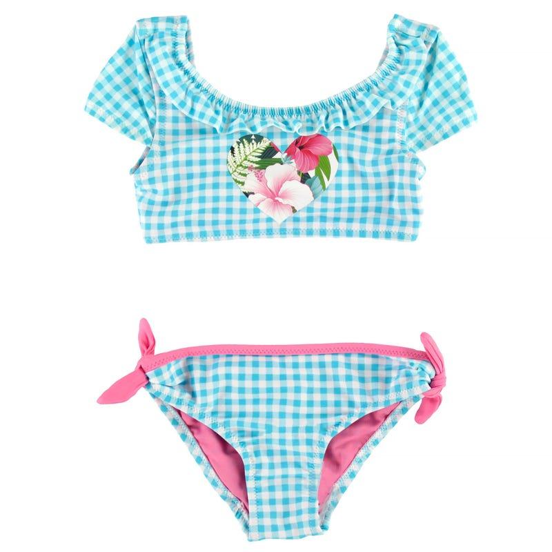 Bikini UV Carreaux 2-4
