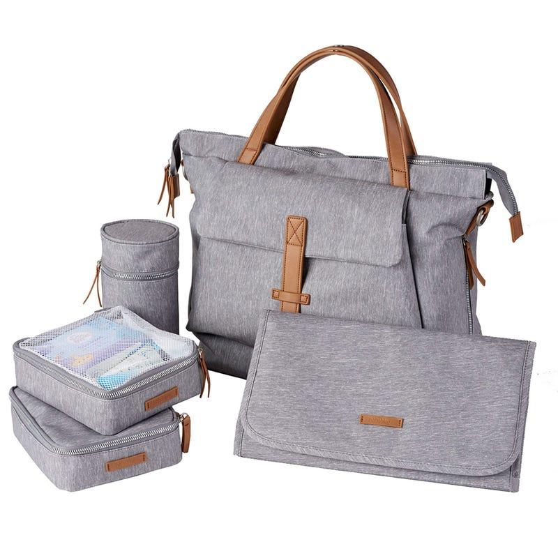 Diapers Bag Erin - Grey