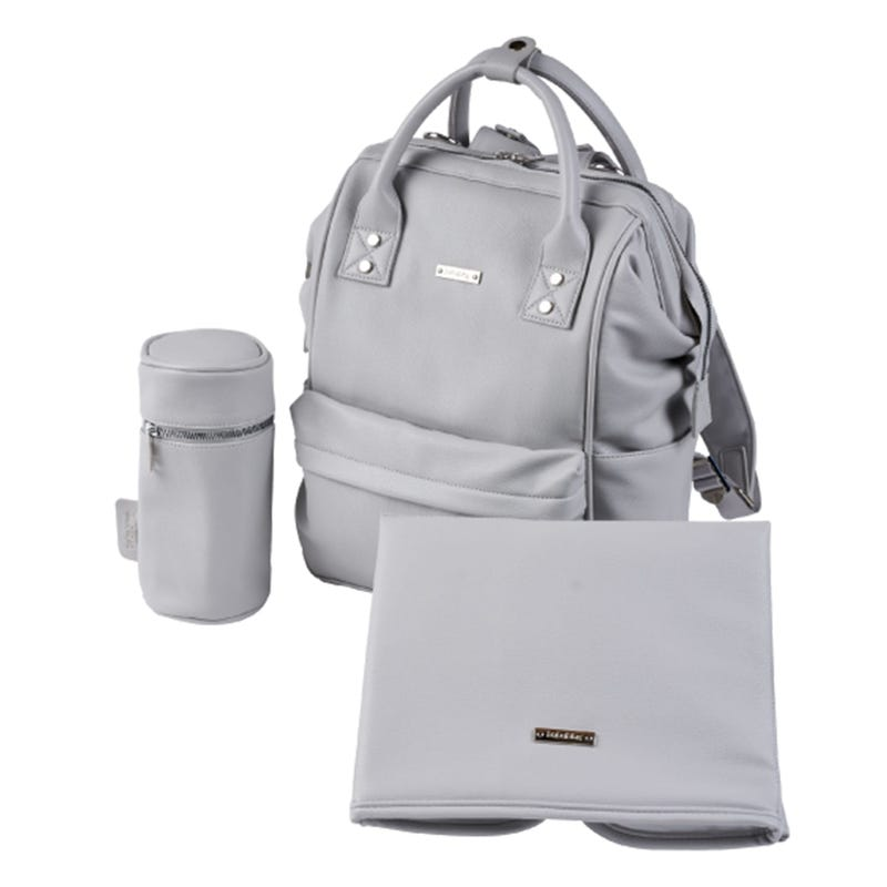 Diapers Backpack Mani - Dove Grey
