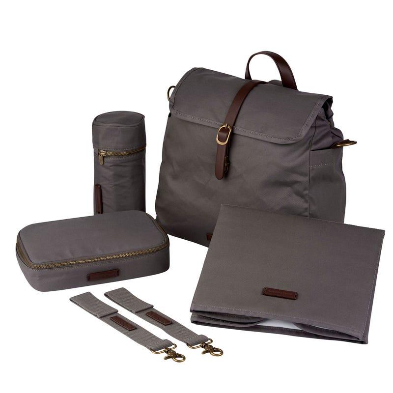 Diapers Bag Barca - Grey