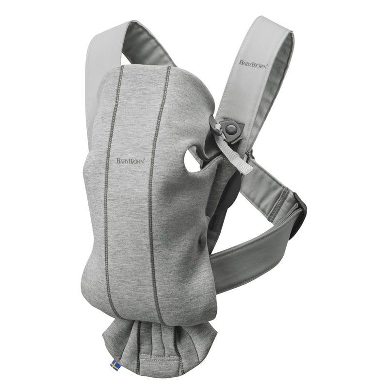 Porte-Bébé Mini 3D Jersey - Gris