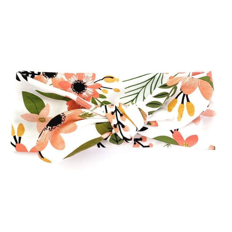 Peach Tropic Headband 3mois+