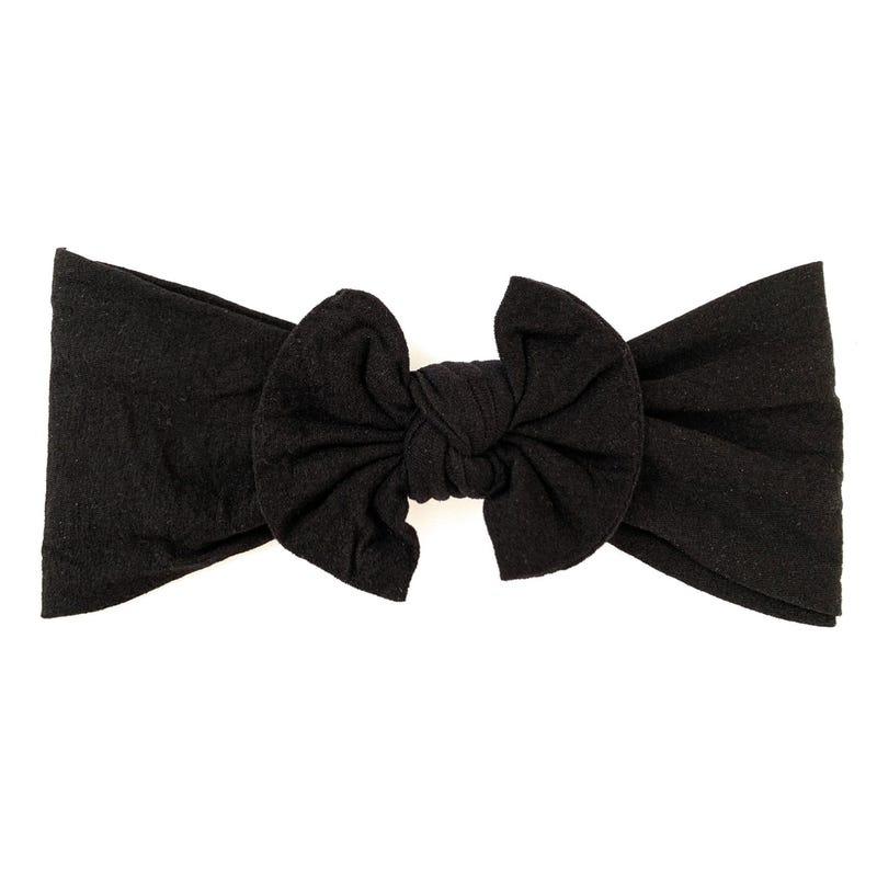 Bandeau Boucle Nylon 0-18m - Noir