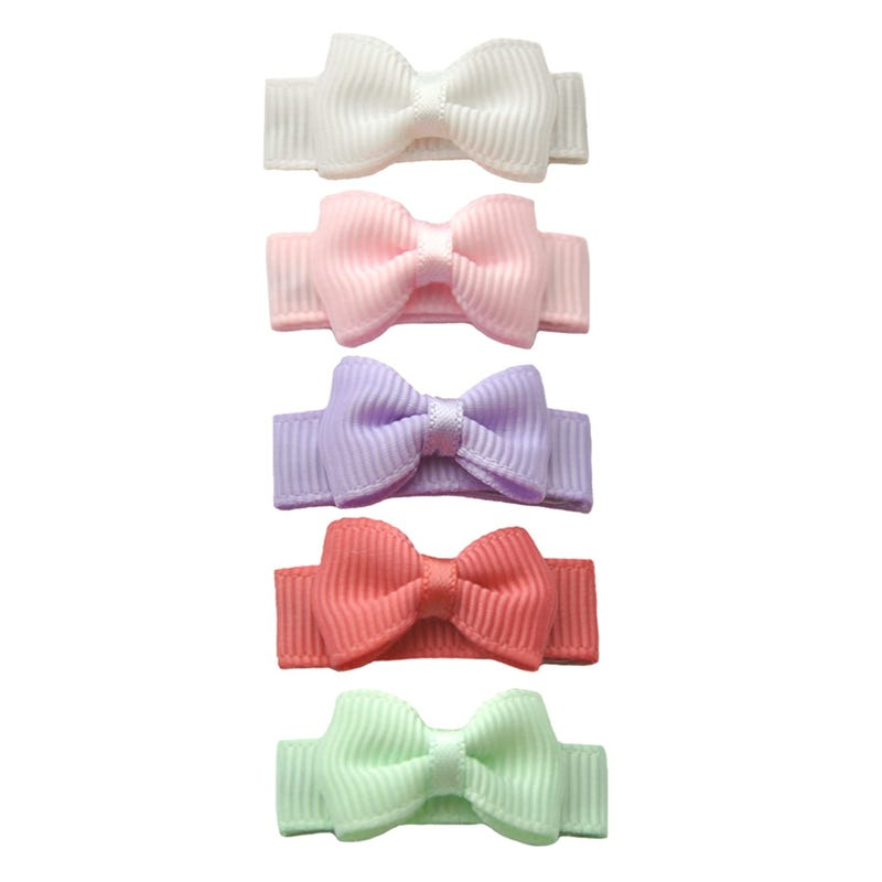 Snap Bow Macaroon 5pc 6m+