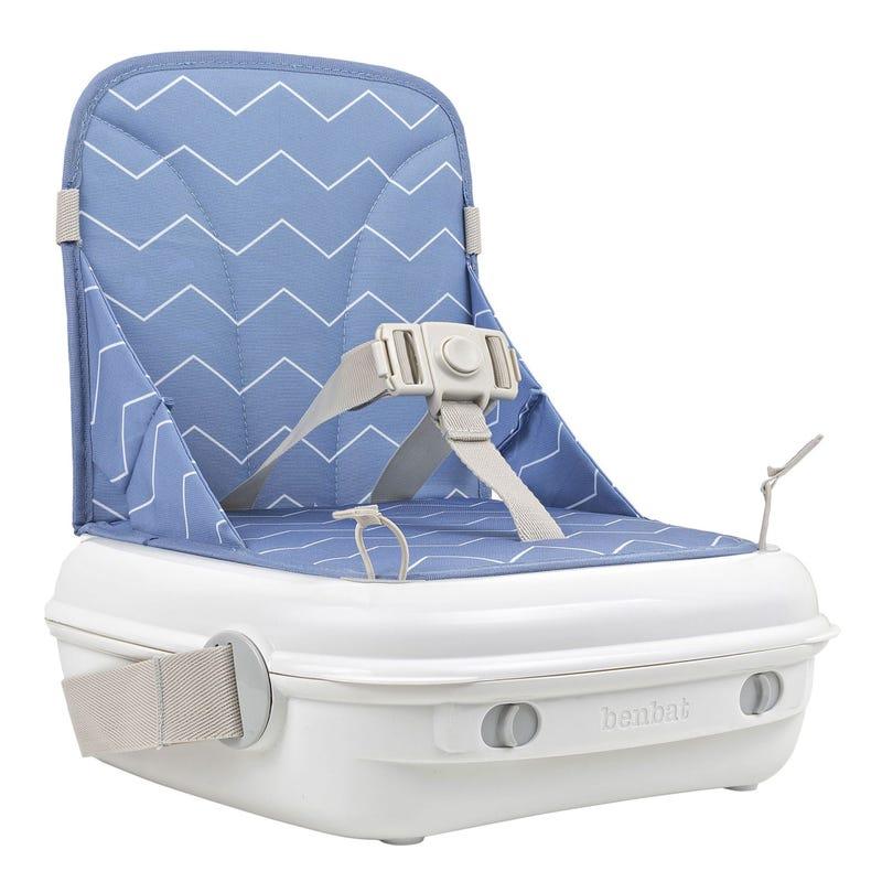 BenBat Yummigo Blue Aegean Chevron Booster Seat