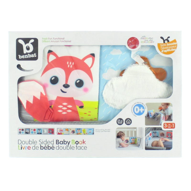 Fox Double Sided Baby Book