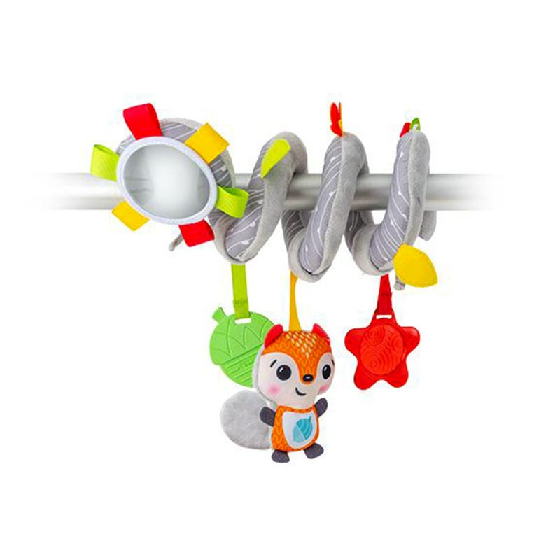 Spiral Fox Activity Toy