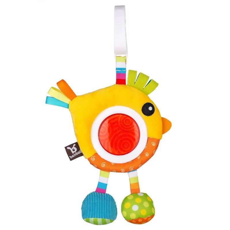 Bird Dazzle Friends Rattle Toy