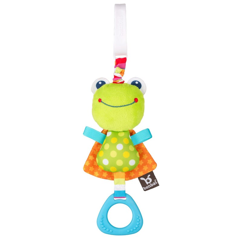 Frog Dazzle Friends Rattle Toy
