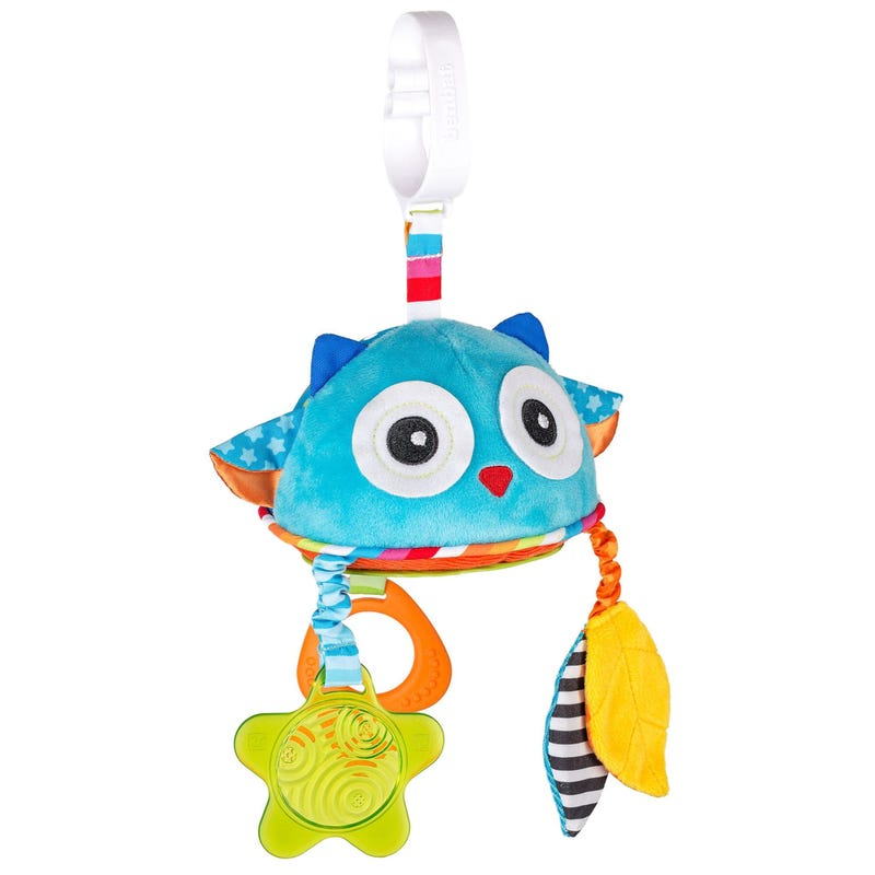 Owl Dazzle Friends Rattle Toy