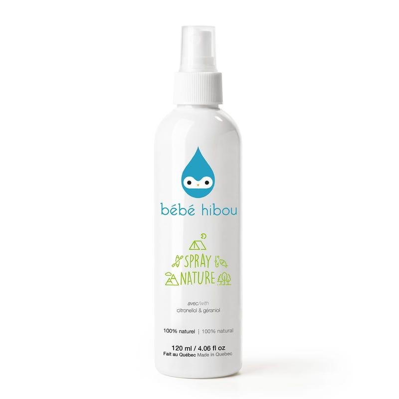 Spray Nature Bébé Hibou- chasse moustique