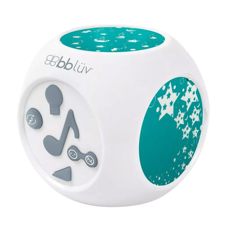 Kübe Sound Activated Musical Night Light with Projection