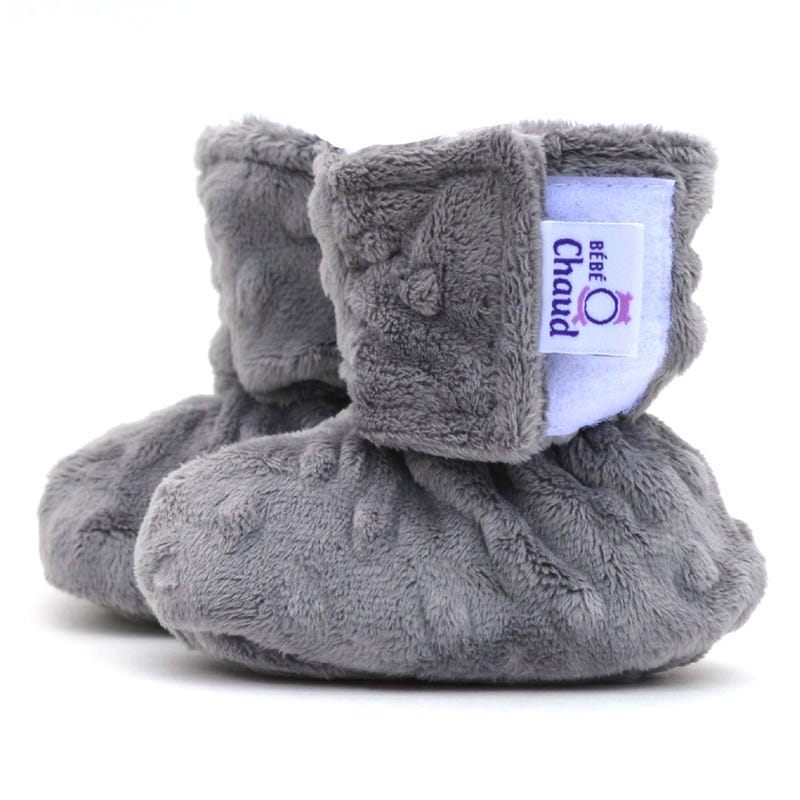 Solid Velux Slippers 0-6m
