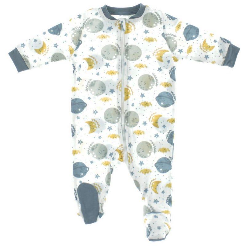Pyjama Imprimé Lunes 0-30mois