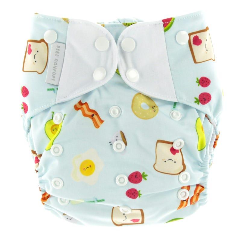Breakfast Cloth Diaper 10-35lbs