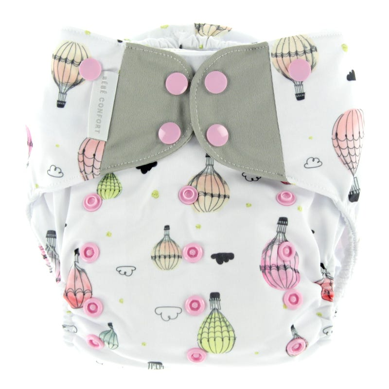Cloth Diaper 10-35lb - Hot Air Balloons