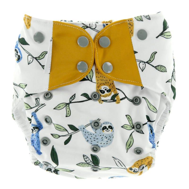 Cloth Diaper 10-35lbs - Sloth