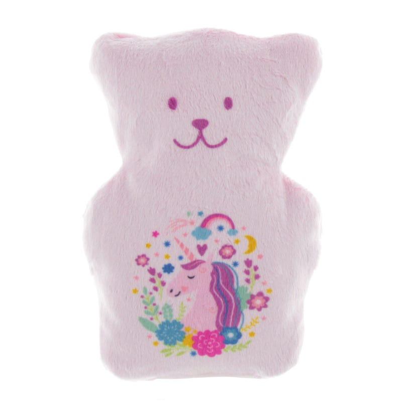 Kissy Booboo Bear Pink Unicorn