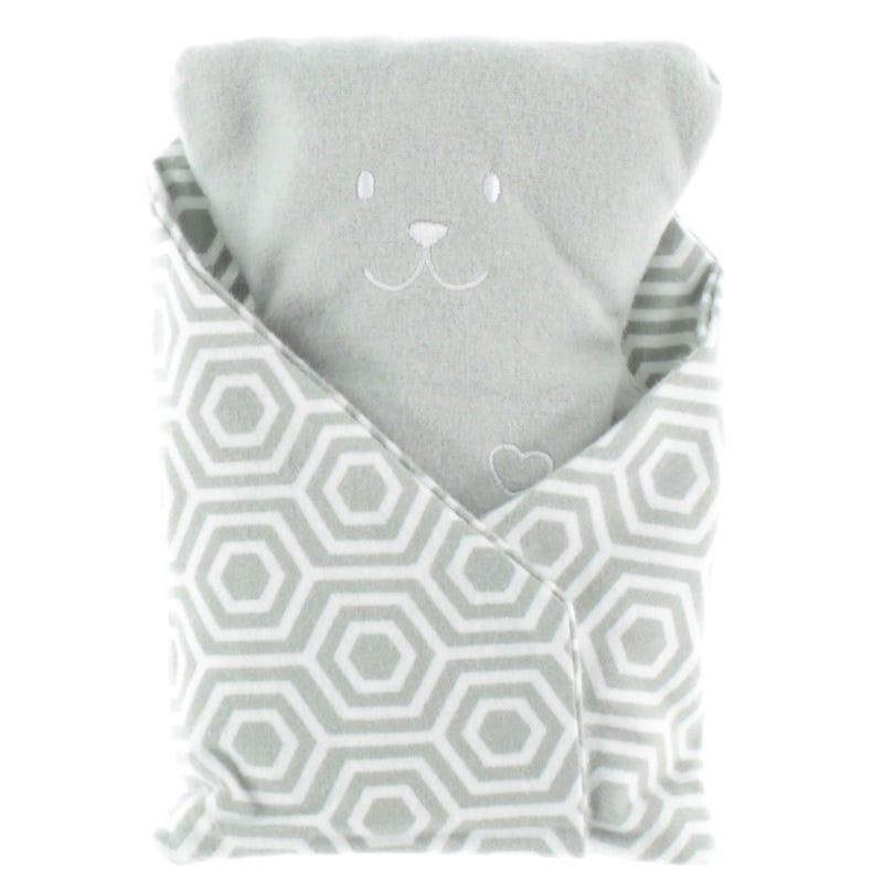 Bear Conforting Cushion - Gray