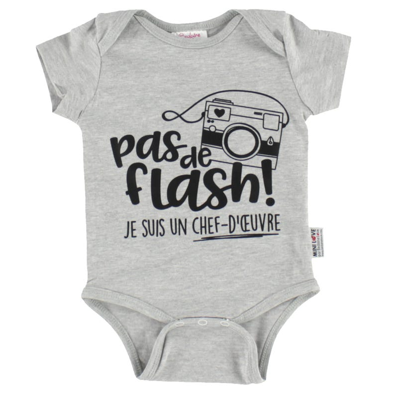 Pas De Flash Bodysuit 3-12m