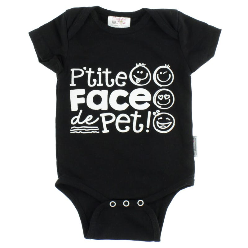Face De Pet Bodysuit 3-12m