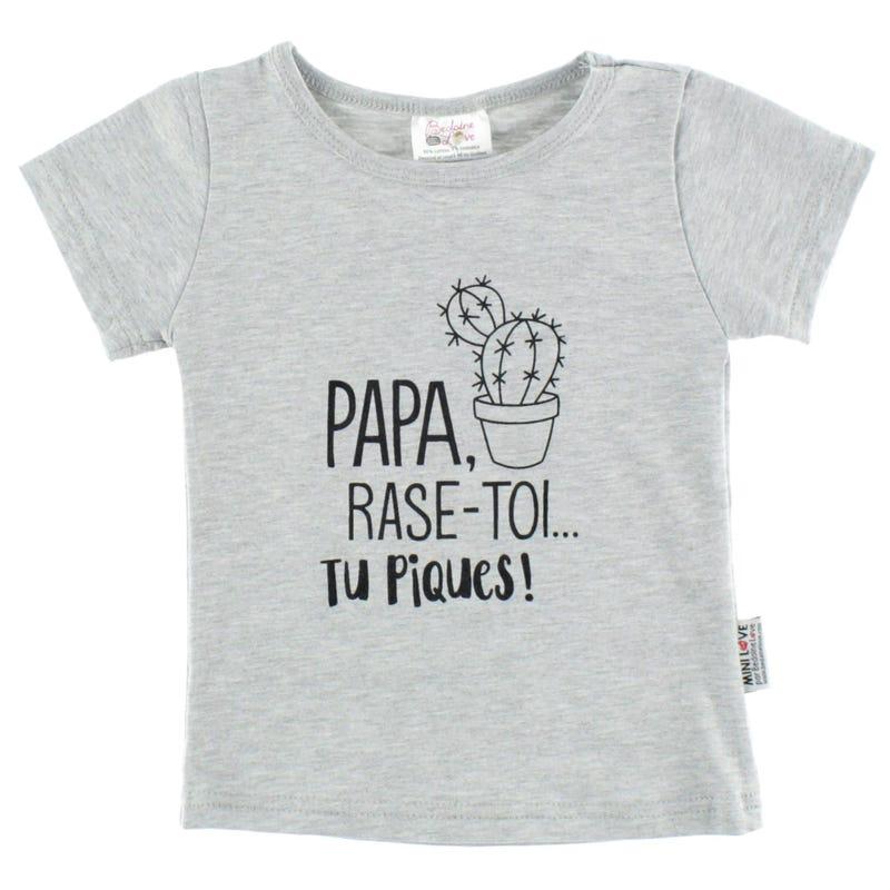 T-Shirt Papa Pique 12-24mois