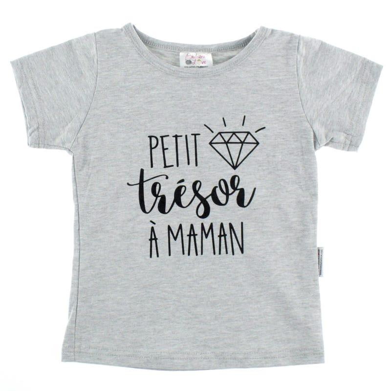 Trésor À Maman T-Shirt 12-24m