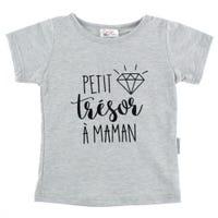 Trésor À Maman T-Shirt 2-3y
